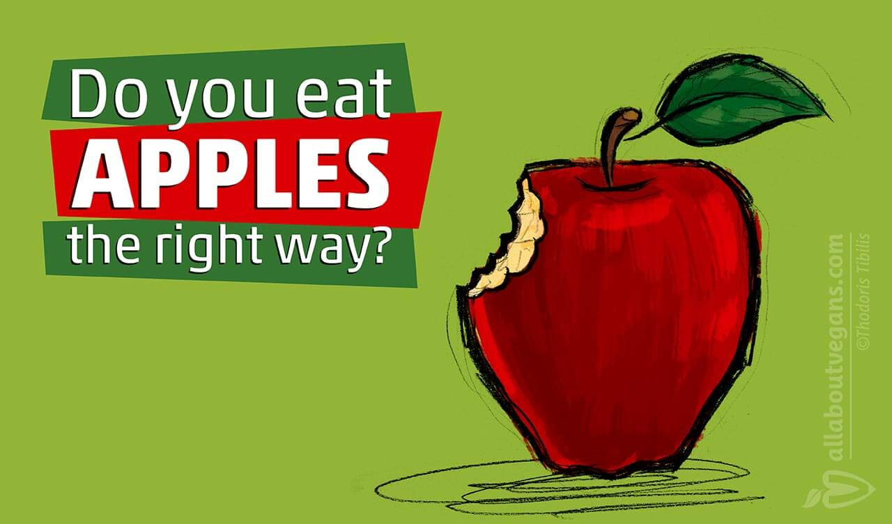 Do you eat apples the right way?