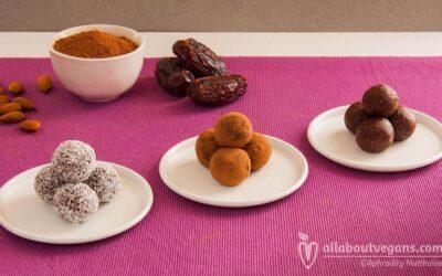 Heavenly sugar-free raw vegan chocolate truffles!