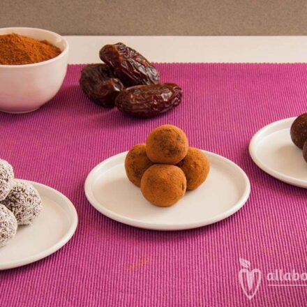 Divine raw vegan chocolate truffles sugar free recipe from All About Vegans