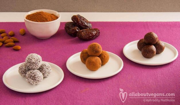 Heavenly sugar-free raw vegan chocolate truffles!