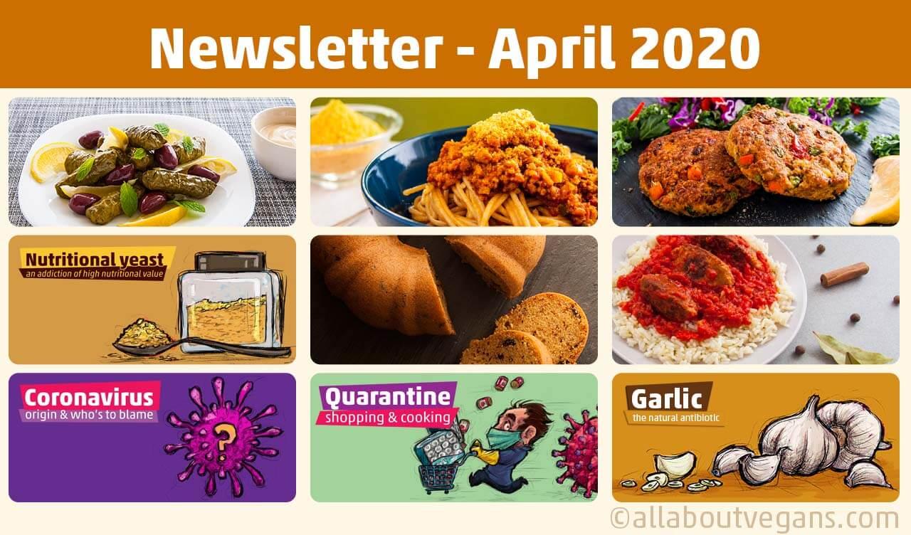 Newsletter Απρίλιος 2020