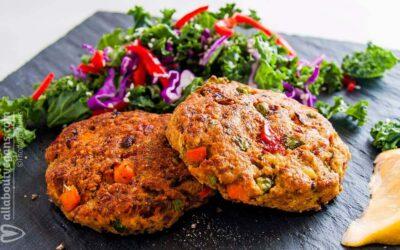 Μπιφτέκια λαχανικών στο γκριλ σε 30 λεπτά!