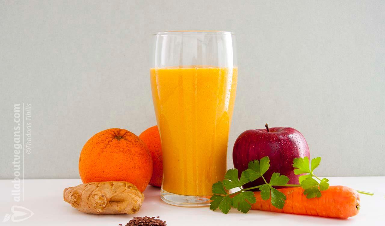 Τονωτικό smoothie για να ξεκινήσετε τη μέρα σας!