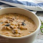 Mushroom soup with rosemary in 30 ′ - Lenten & Vegan recipe