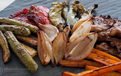 Ψητά λαχανικά σε σούπερ γευστική μαρινάδα!